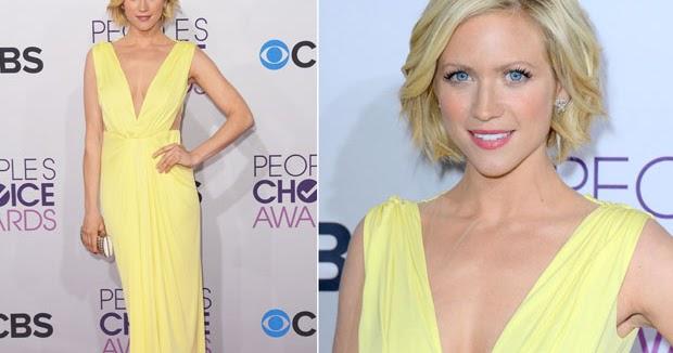 Celeb Diary: Brittany Snow @ 2013 People's Choice Awards