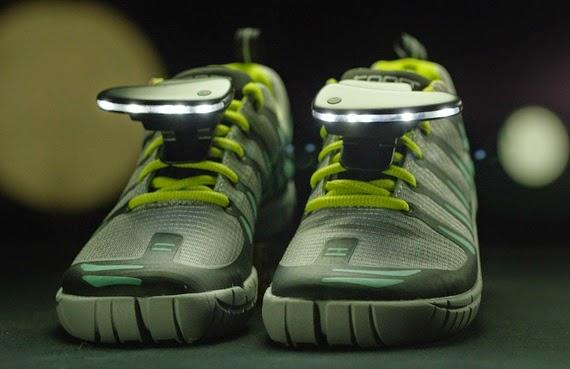 Night Runner 270° Shoe Lights: Παπούτσια που φωτίζουν το δρόμο σου