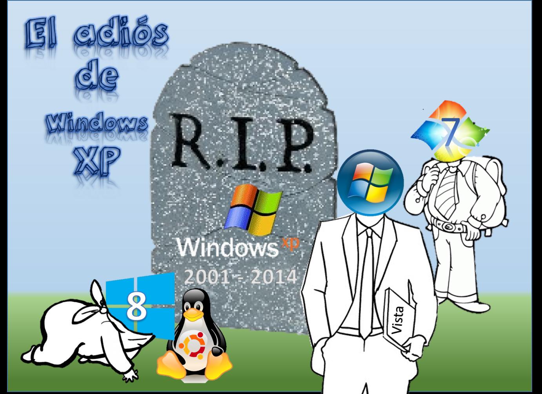 El adiós de Windows XP.