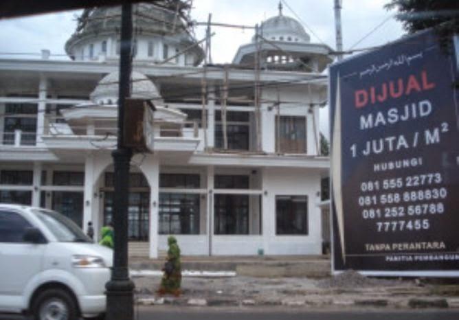 Masjid Dijual 3,6 Miliar di Kota Batu