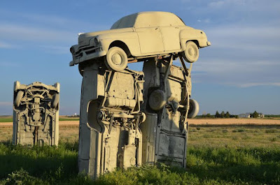 Carhenge Jan 2016 IVJ Thompson