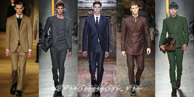 Spring 2015 Men's Business Fahion Style
