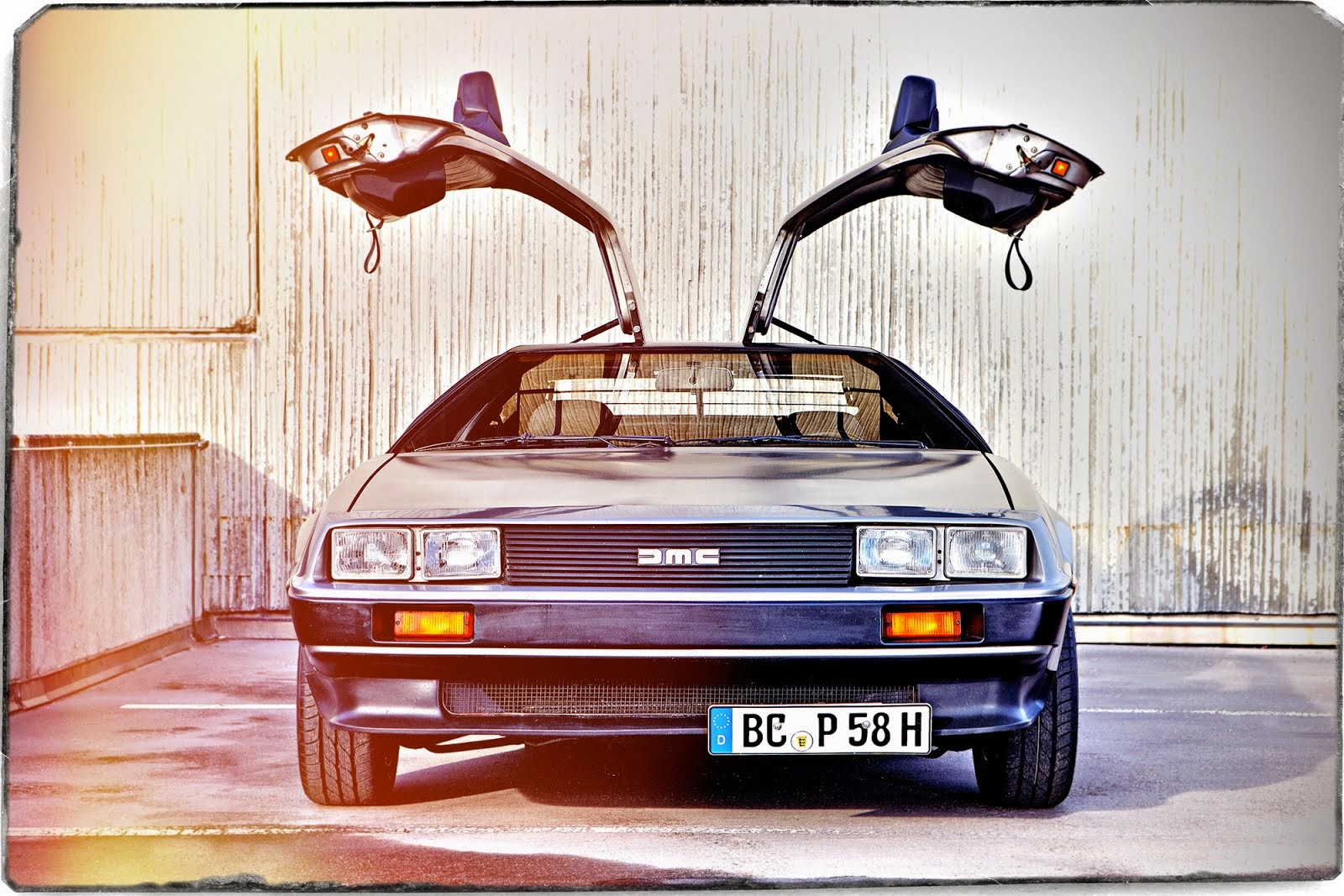De Lorean Ramp Magazin