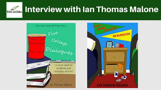 Interview with Ian Thomas Malone #AuthorInterview #Books @JoLinsdell @Writers_Authors