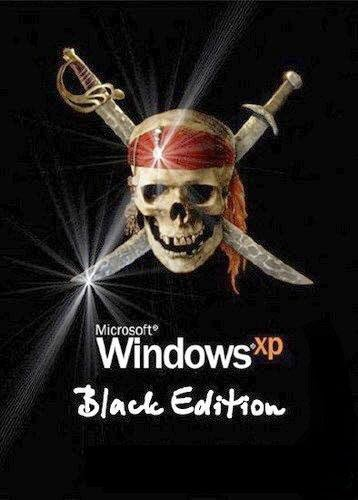 Windows XP Professional SP3 32-bit Black Edition 2013 Full Version