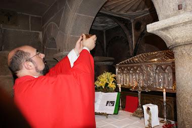 7   7   2010   S. Messa alla tomba di s. Giacomo a Compostella