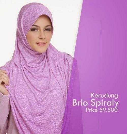 Koleksi Model Hijab Modern Rabbani 2015: Brio Spiraly.