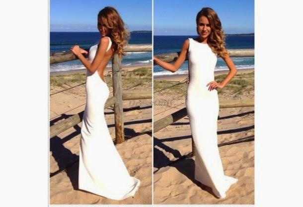 snygga klänningar med öppen rygg
