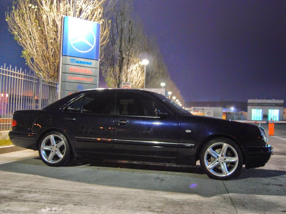 Mercedes benz e420 w210 on r18 amg wheels benztuning for Mercedes benz with rims
