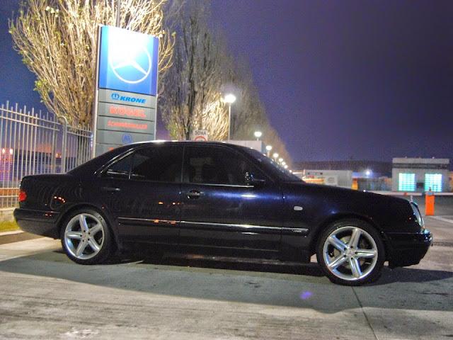 Amg Wheels 18 >> Mercedes-Benz E420 W210 on R18 AMG wheels | BENZTUNING