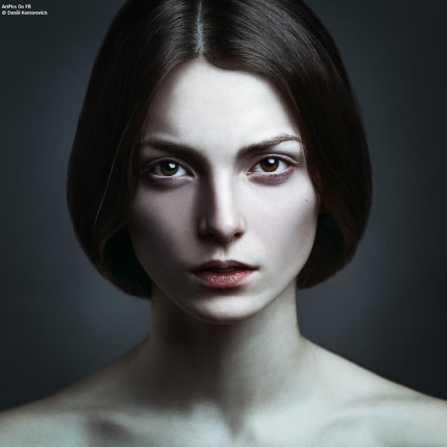 Daniil Kontorovich Amazing portrait girls