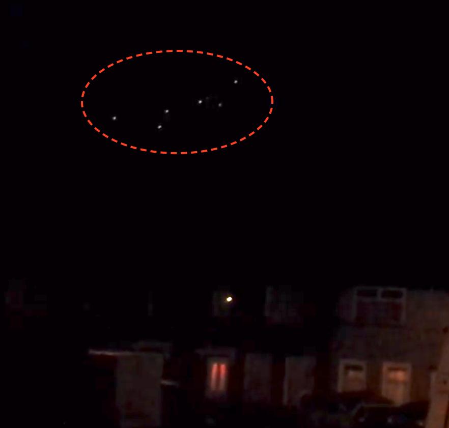 UFO SIGHTINGS DAILY: 8 Glowing UFOs Over London, England On Jan 12 ...