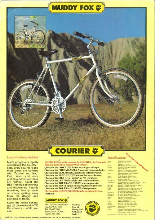 Coastrider 1980 S Muddy Fox Courier Atb Survivor