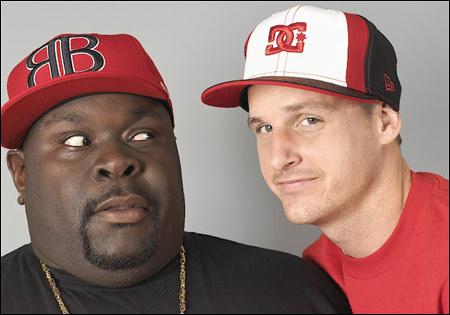 Rob and Big from MTV's Reality Show