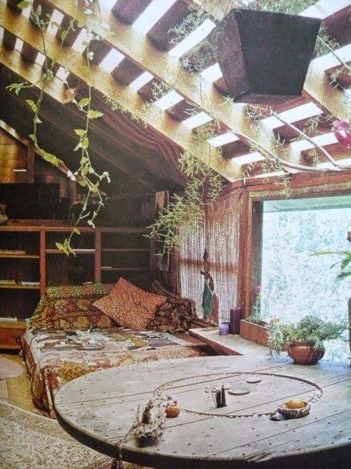 Moon To Moon Bohemian Bedroom