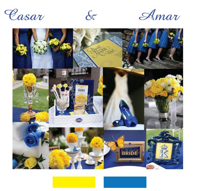 decoracao azul e amarelo casamento:Solteiras Noivas Casadas: Decoração do Casamento: Amarelo e Azul