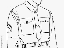 Military Jeep Coloring Page