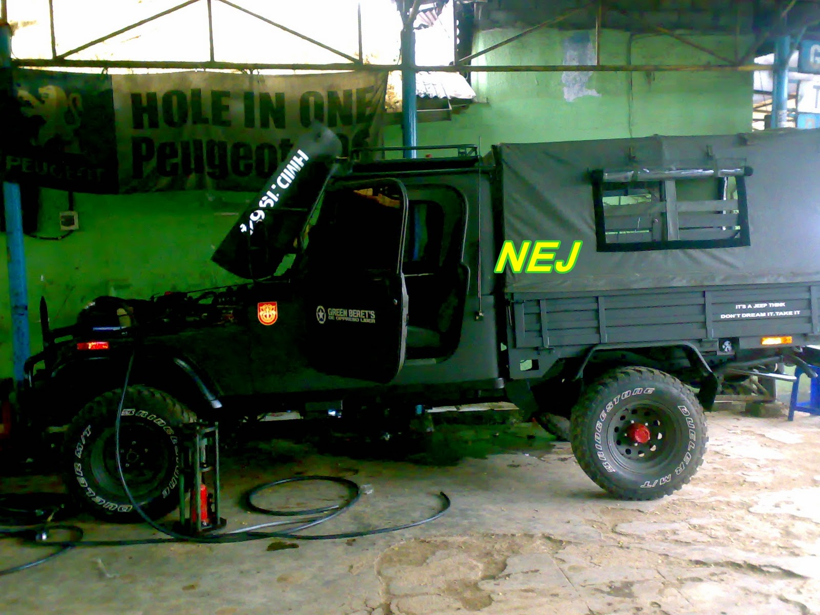 Jeep Modifikasi Kootation
