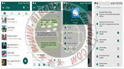 BBM Mod v2.9.0.51 Tema WhatsApp V9 + BackUp Free Sticker Terbaru