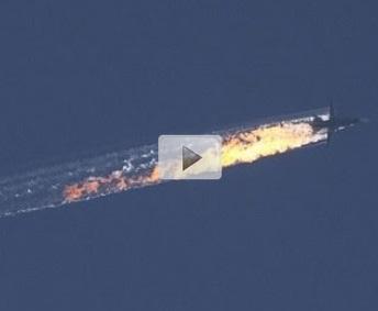 Video Sukhoi-24 Rusia Setelah di Tembak