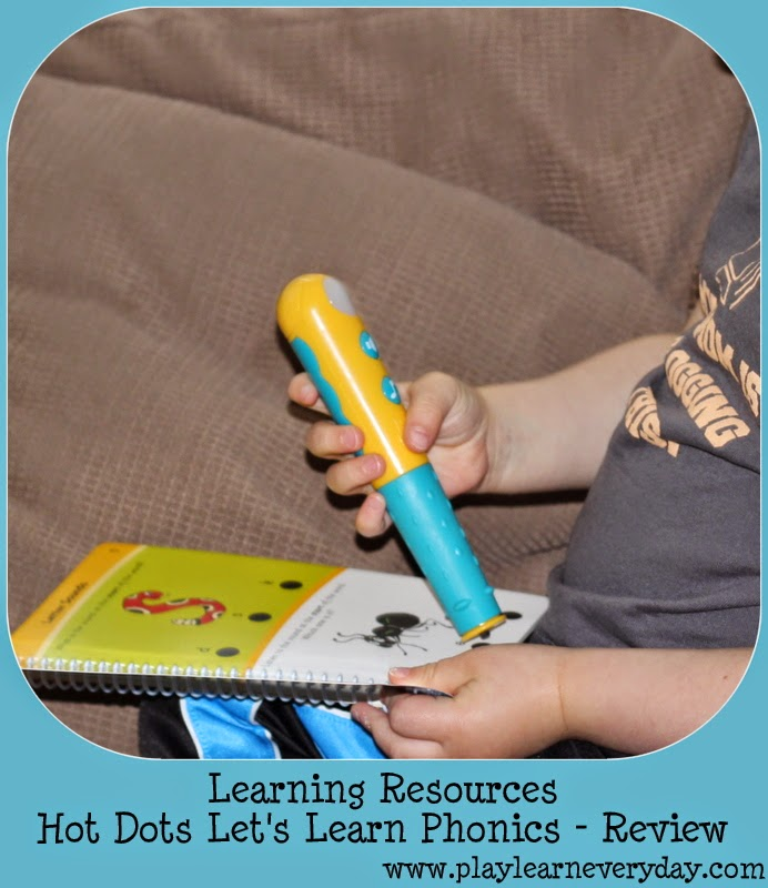 Hot Dots® Let's Learn! Jolly Phonics Set - Learning Resources