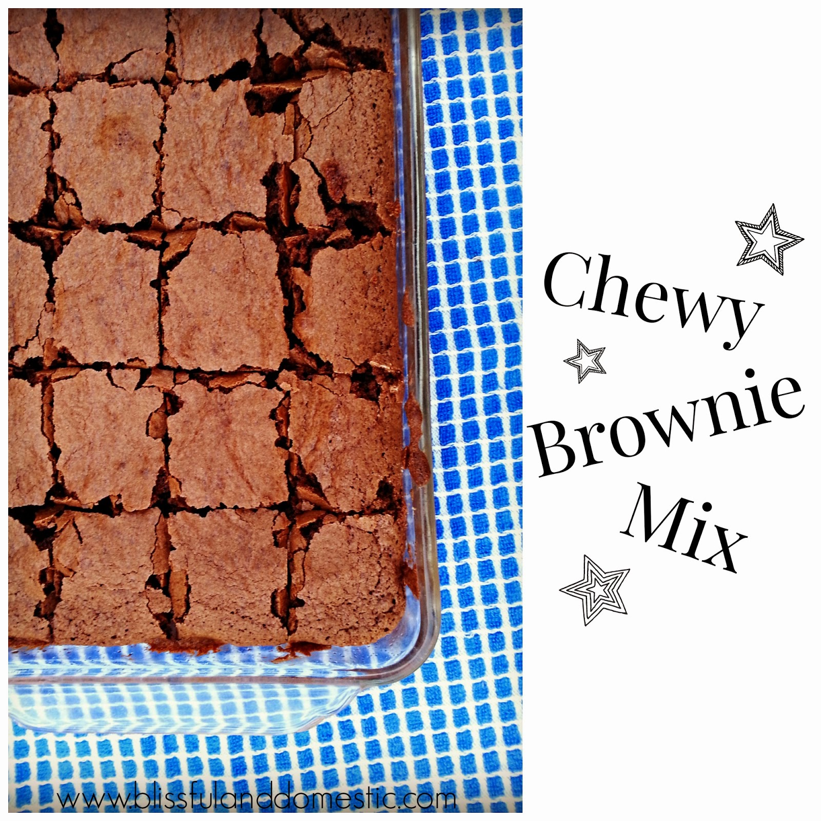 Save $$$ by making your own Brownie Mix at Home