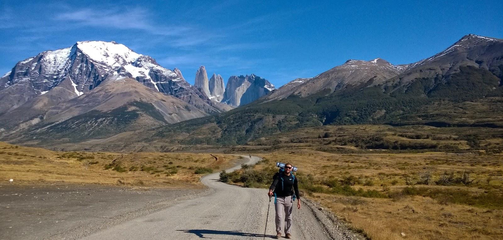 Circuito W Torres Del Paine : Mochileiros viajando torres del paine circuito w chile