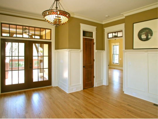 J k homestead hook line and sinker for Wood doors with painted trim
