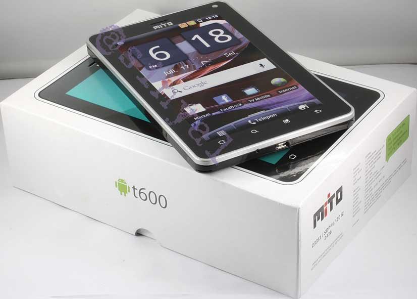 Berikut Harga dan Spesifikasi Tablet Mito T600