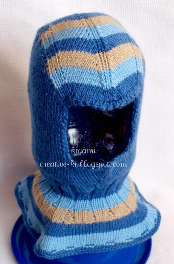 Вязание спортивной шапки для мальчика 14