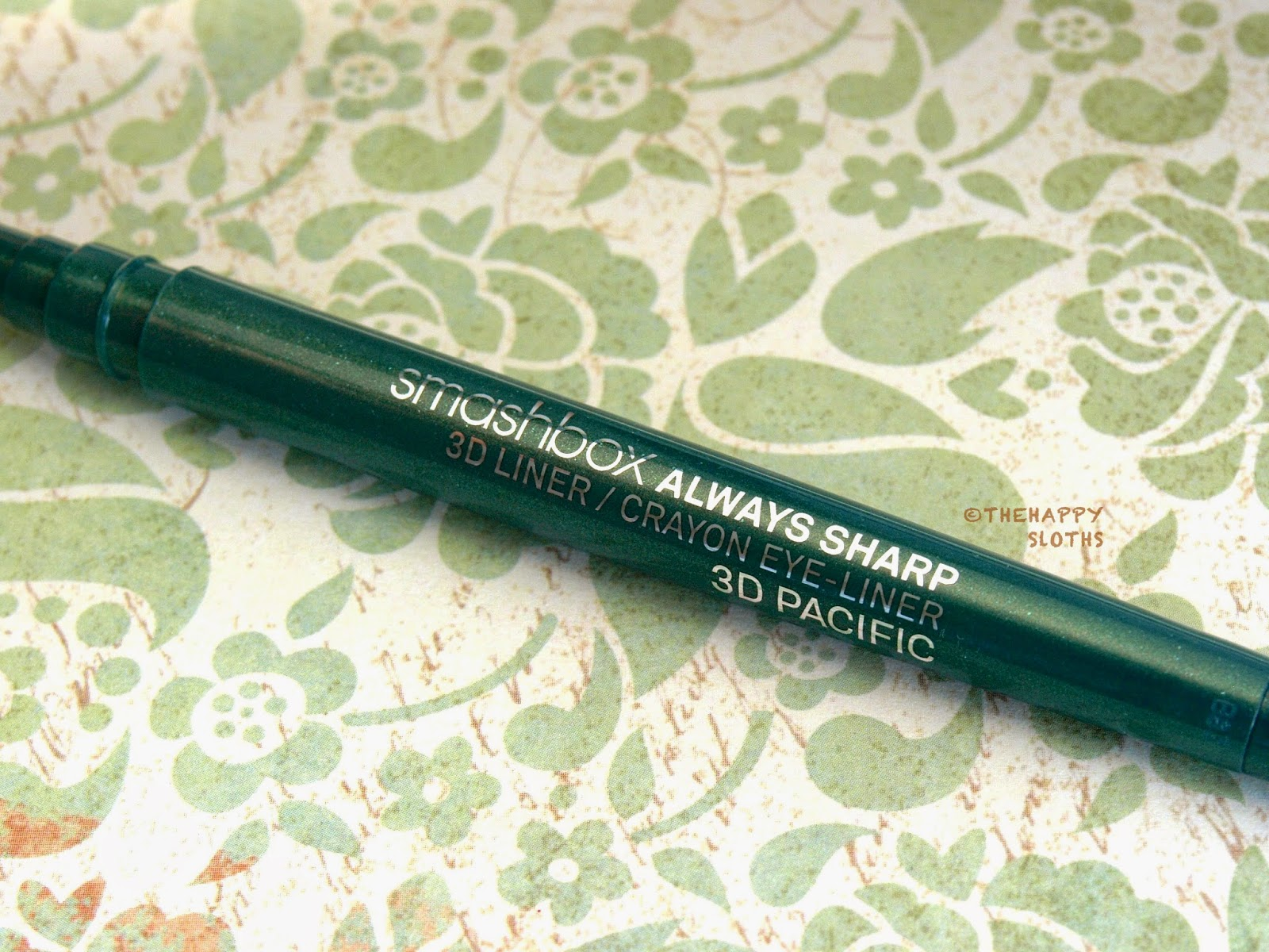 "Smashbox Always Sharp 3D Liner in ""3D Pacific"": Review and Swatches"
