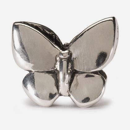 Trollbeads Fantasy Butterfly Stock Photo
