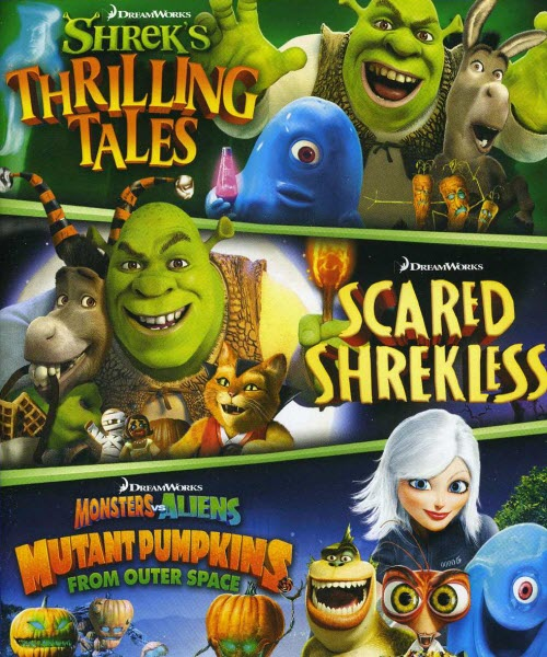 Dreamworks Spooky Stories 2012