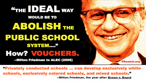 How to abolish public schools with school vouchers