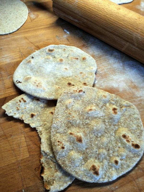 chapati , pane indiano