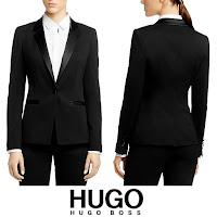 Queen Letizia Style HUGO BOSS Jawona Tuxedo