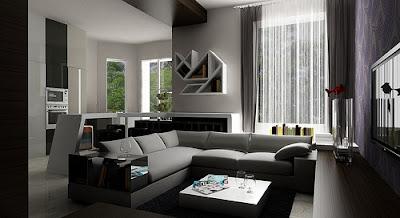 salas pequeñas modernas