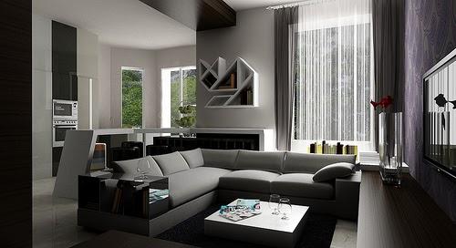 Decora y disena 4 salas para espacios peque os for Home disena y decora tu hogar