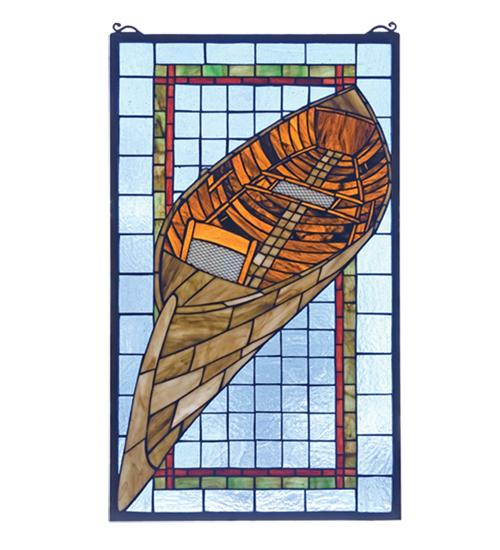 Boat Stained Glass Window