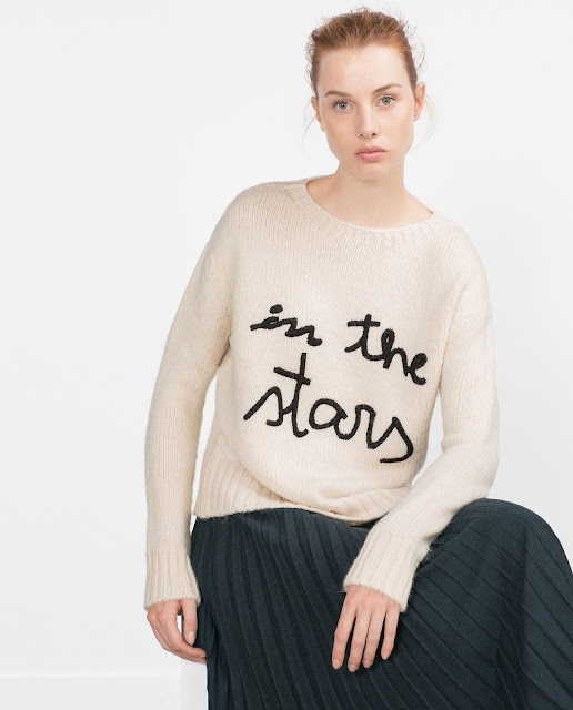 zara stars jumper, zara cream star jumper, cream star jumper, in the stars jumper,