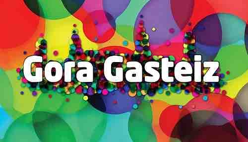 Logo Gora Gasteiz