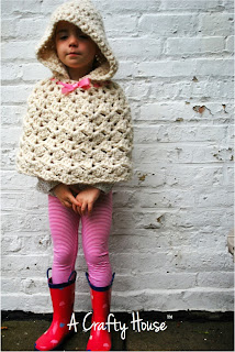 crochet pattern hooded cape on Etsy, a global handmade and