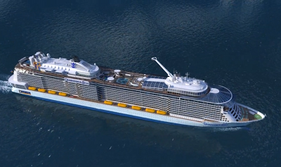 Kapsul Atas Kapal Persiaran Quantum of the Seas