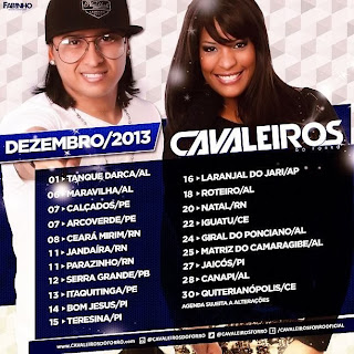 CAVALEIROS DO FORRÓ AO VIVO EM JAICÓS-PI 27-12-13
