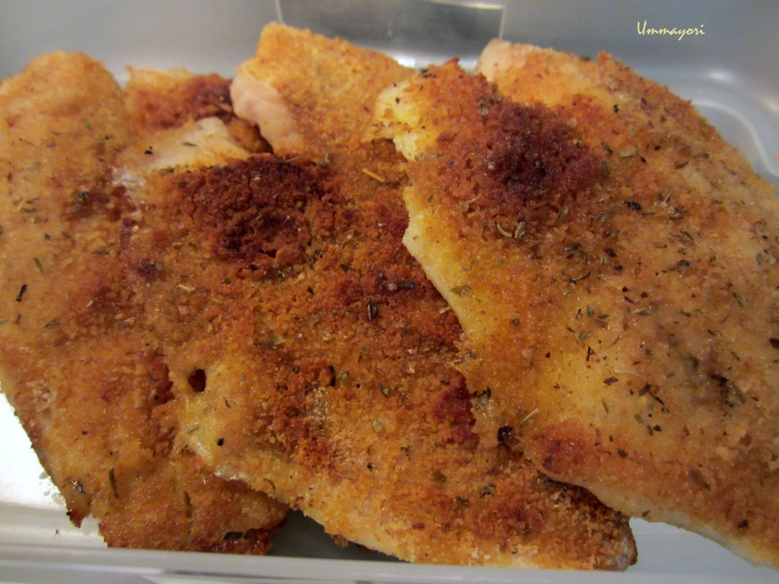 Umma yori oven baked tilapia for How to bake tilapia fish