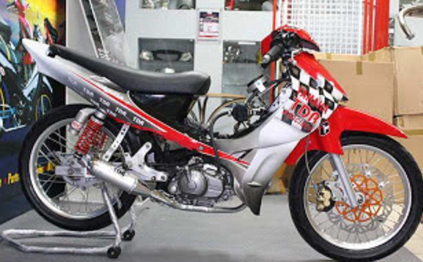 Modifikasi Motor Bebek 2013