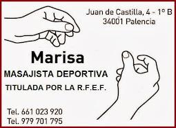 MARISA MASAJISTA DEPORTIVA