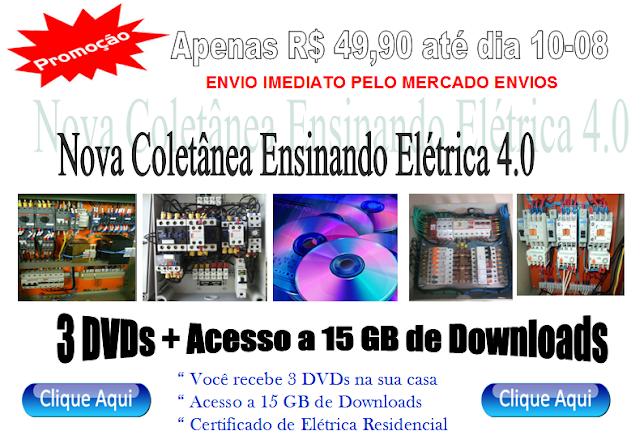 _ DVDs Ensinando Elétrica Apenas R$ 49,90 aproveite!