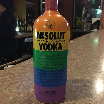 LGBTQ Vodka.......Absolut Has New Bottles