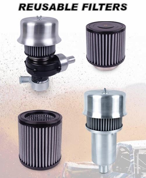 AIRAID helmet air system filters